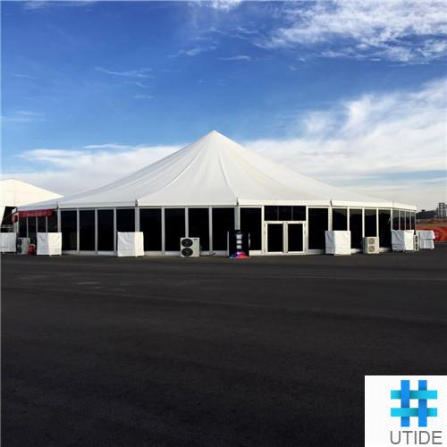 PVC tent fabric blockout